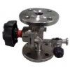 Stainless steel flanged ends diaphragm valve